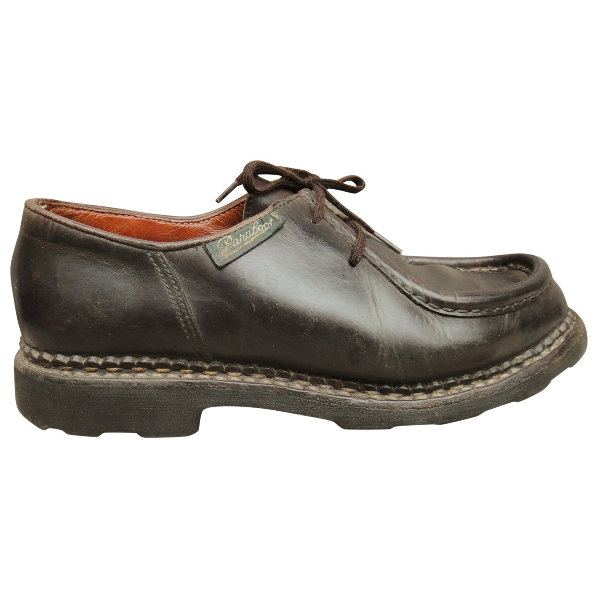 Paraboot \N Brown Leather Lace ups for Women 5 UK