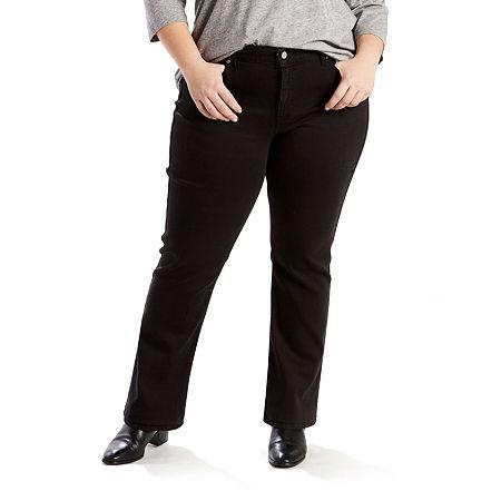 Levi's Classic Straight - Plus, 22w Short , Black