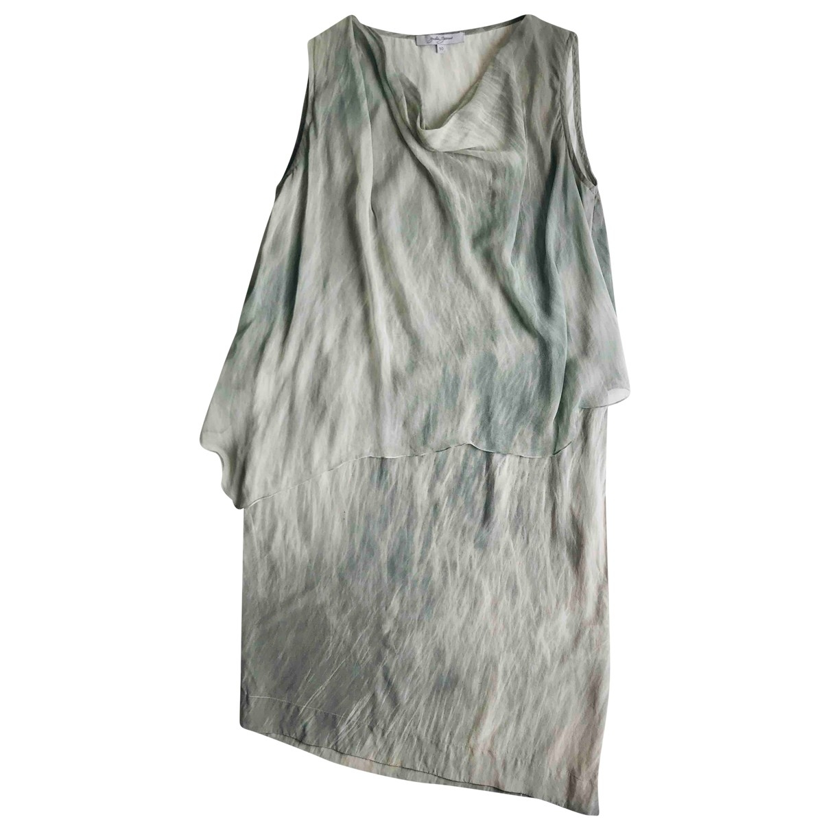 Non Signé / Unsigned \N Silk dress for Women 10 UK