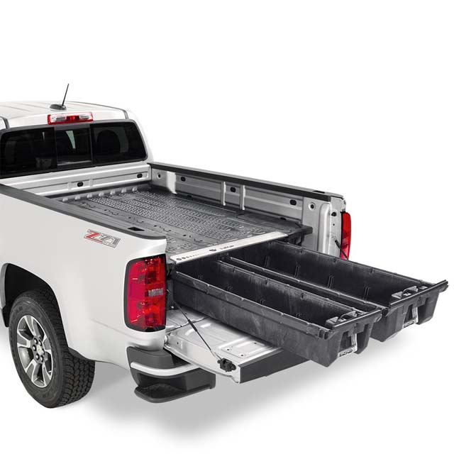 Decked Nissan Frontier Bed Organizer 05-17 6 Ft 1 Inch Bed Length