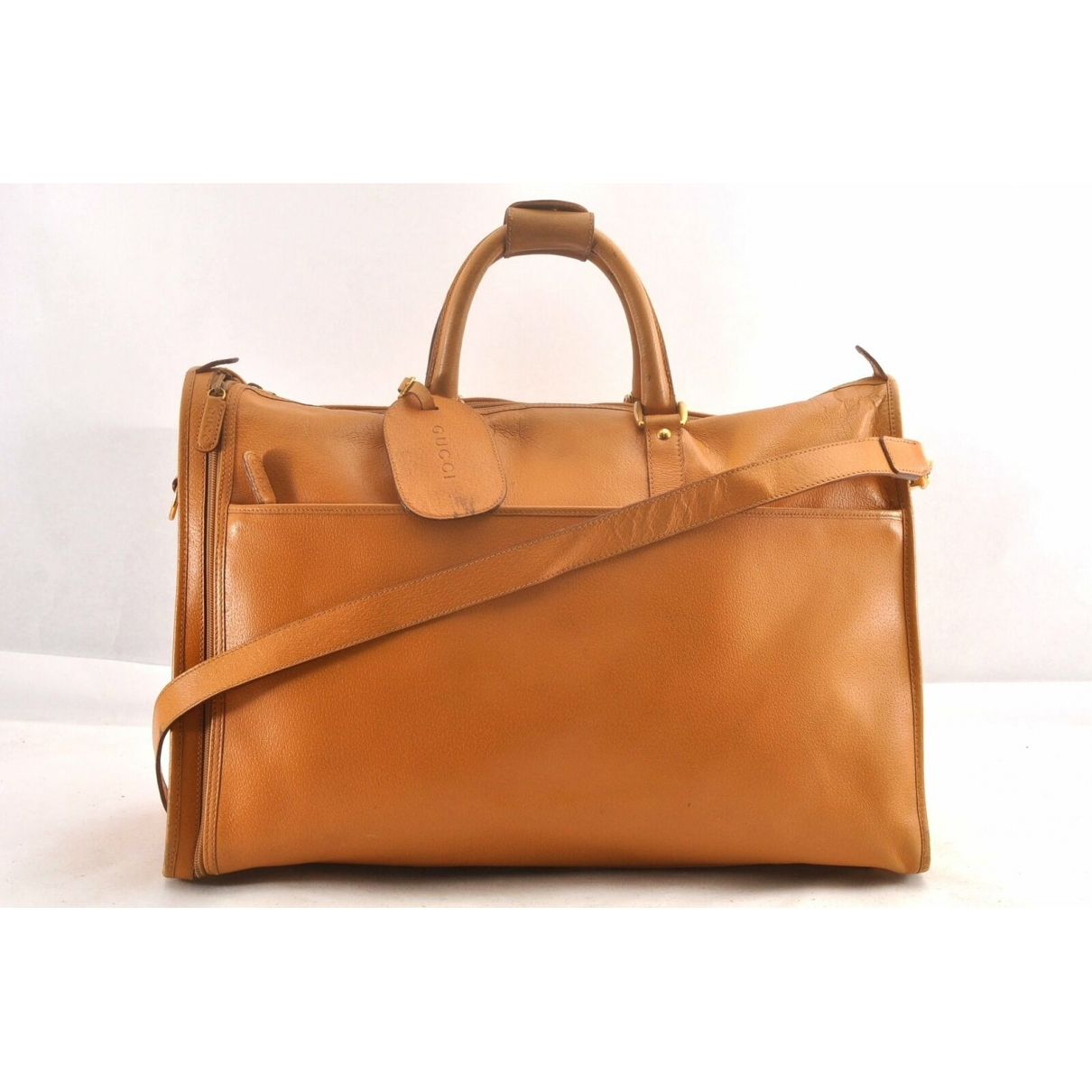 Gucci \N Brown Leather Travel bag for Women \N