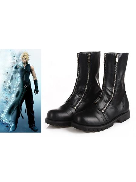 Milanoo Final Fantasy VII Cloud Halloween Cosplay Shoes