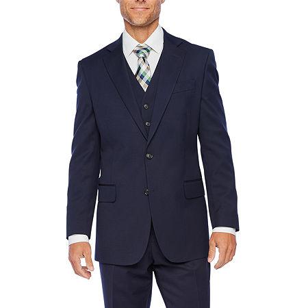 Stafford Super Mens Classic Fit Suit Jacket, 42 Regular, Blue