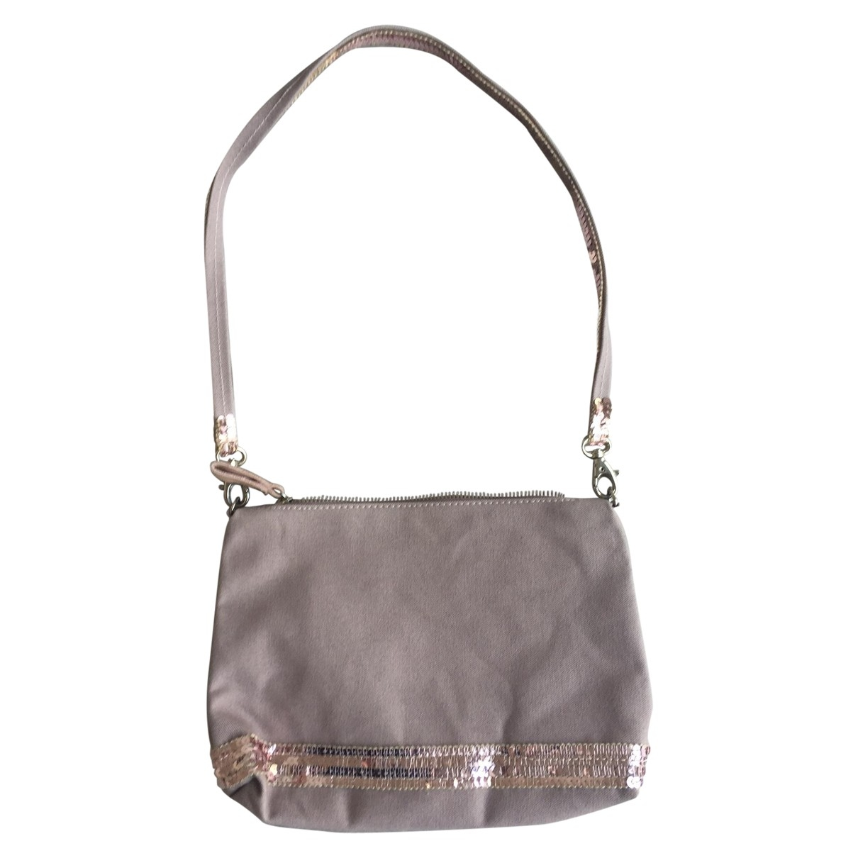 Vanessa Bruno Cabas Pink Glitter Clutch bag for Women \N
