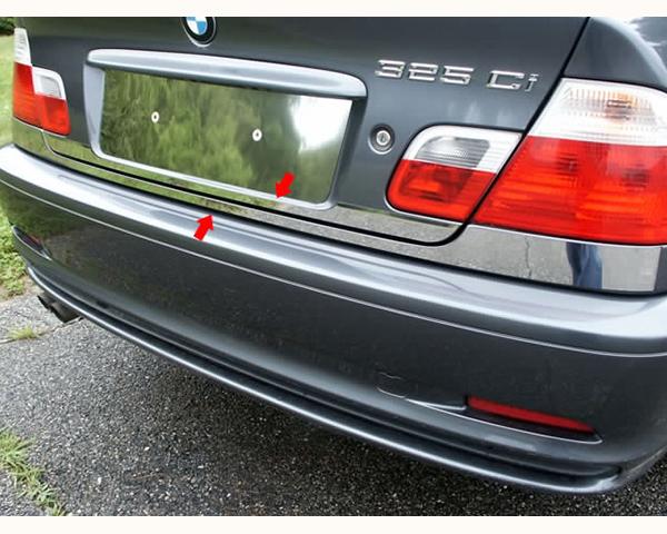 Quality Automotive Accessories 2-Piece 2.5-Inch Width-Rear Deck Trim BMW 323Ci 2000