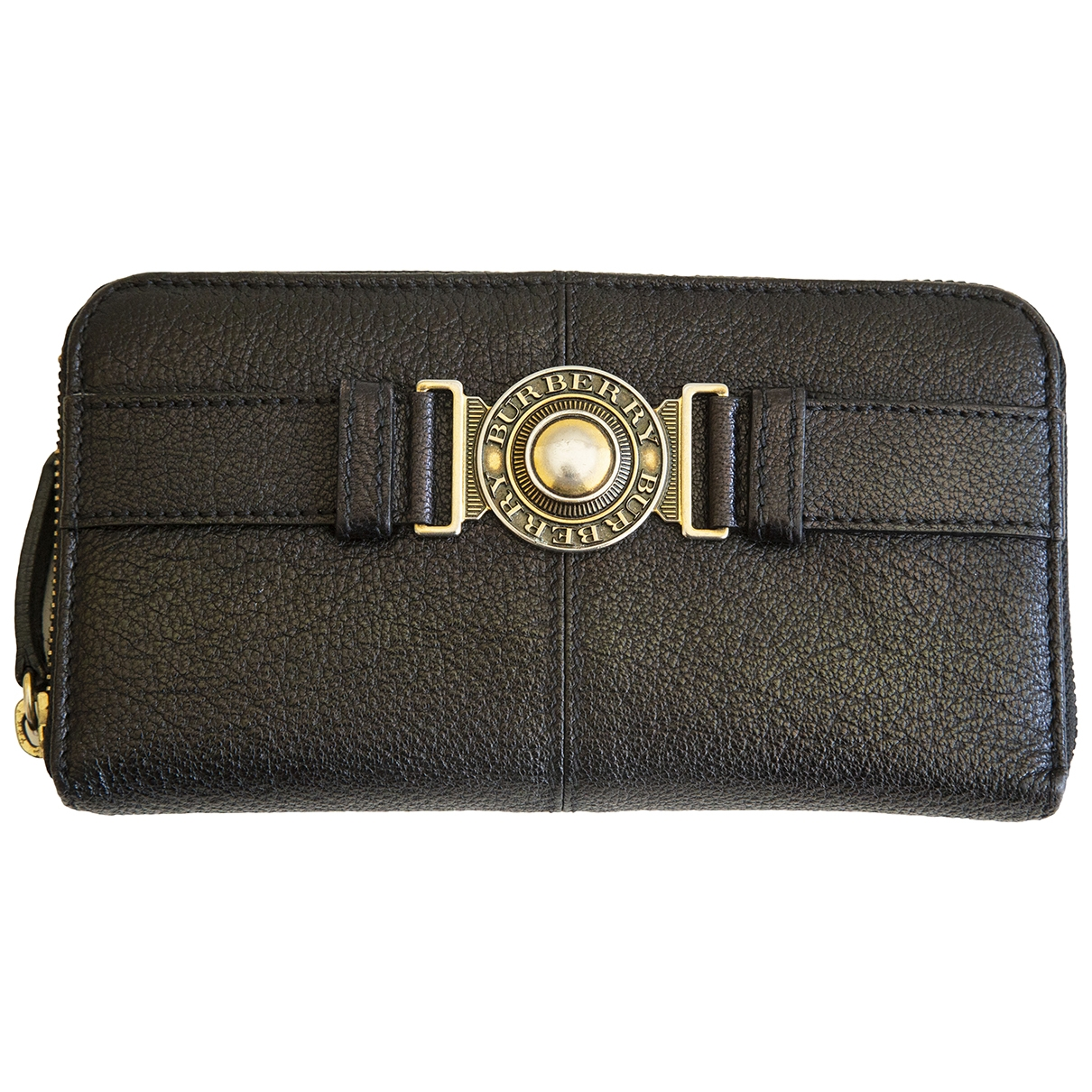 Burberry \N Brown Leather wallet for Women \N