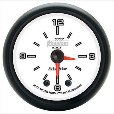 Auto Meter Phantom II Clock - 7585