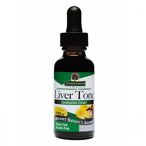 Liver Tone ALCOHOL FREE, 1 OZ by Nature's Answer