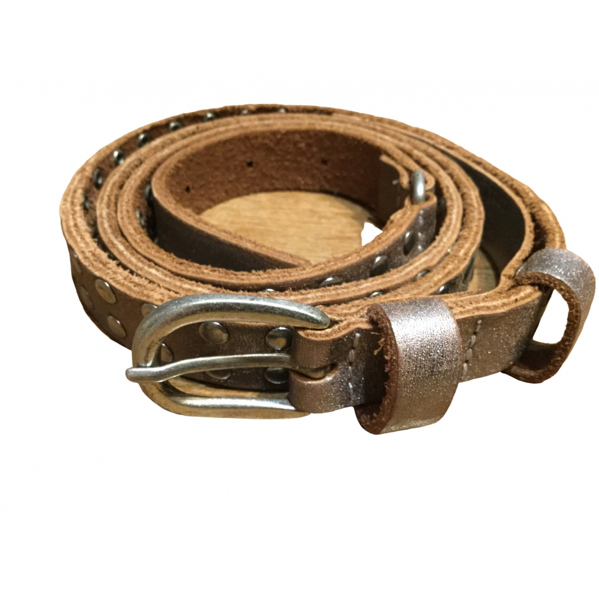 Zadig & Voltaire \N Leather belt for Women 90 cm