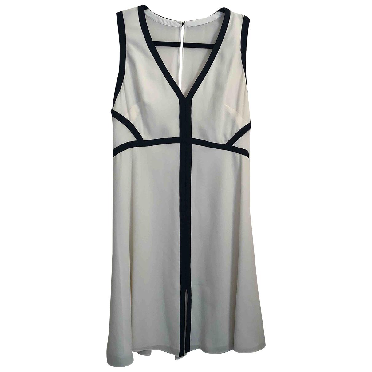 Reiss \N Ecru Silk dress for Women 12 UK