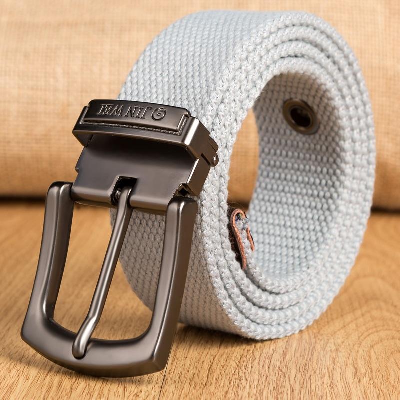 Ericdress Pin Buckle Woven Strap Men's Belt