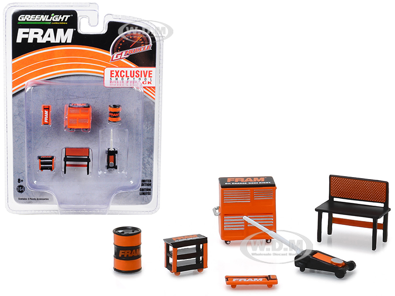 Greenlight Muscle 6 piece Set Shop Tools