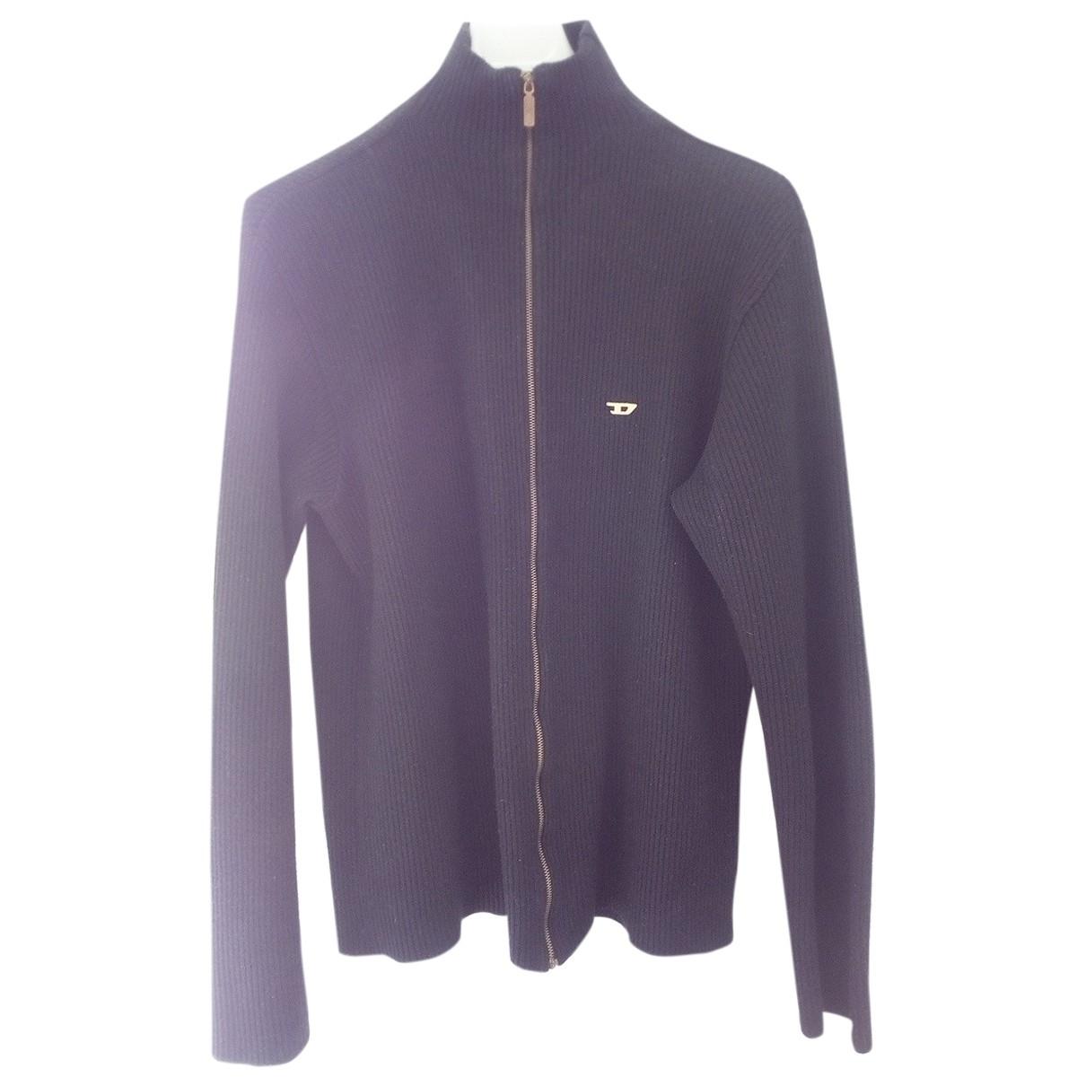 Diesel \N Black Wool Knitwear & Sweatshirts for Men XL International