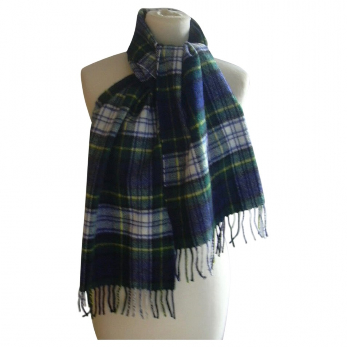 Non Signé / Unsigned \N Multicolour Wool scarf & pocket squares for Men \N