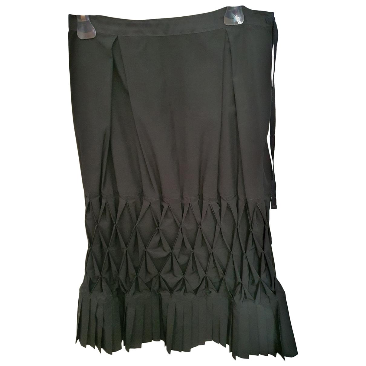 Sonia Rykiel \N Black Silk skirt for Women 40 FR