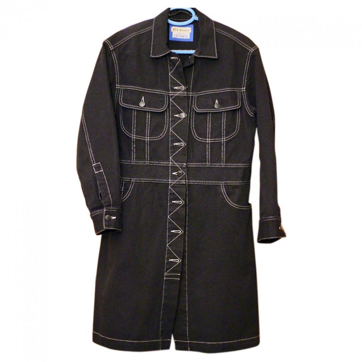 Acne Studios \N Navy Denim - Jeans coat for Women 34 FR