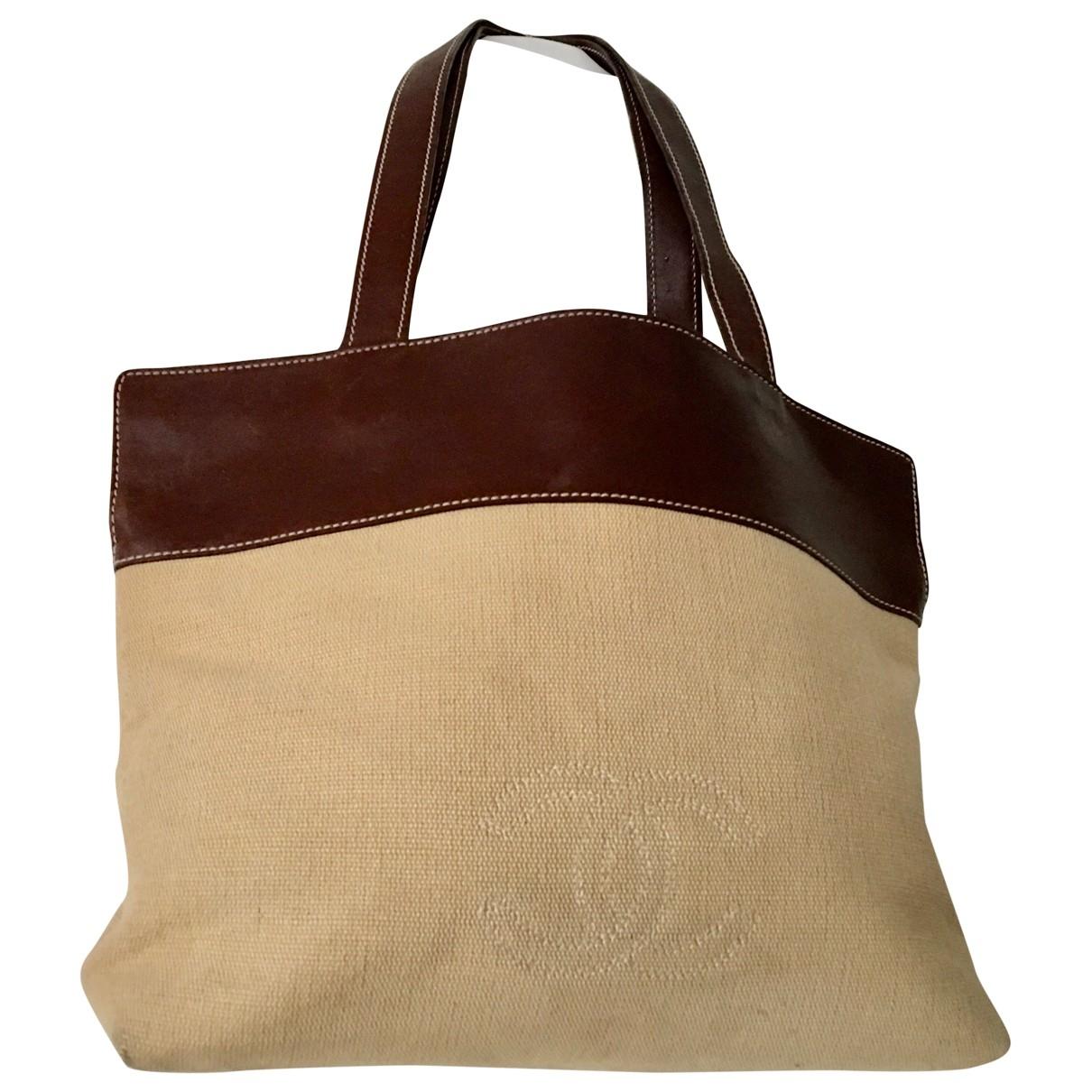 Chanel \N Beige Cloth handbag for Women \N
