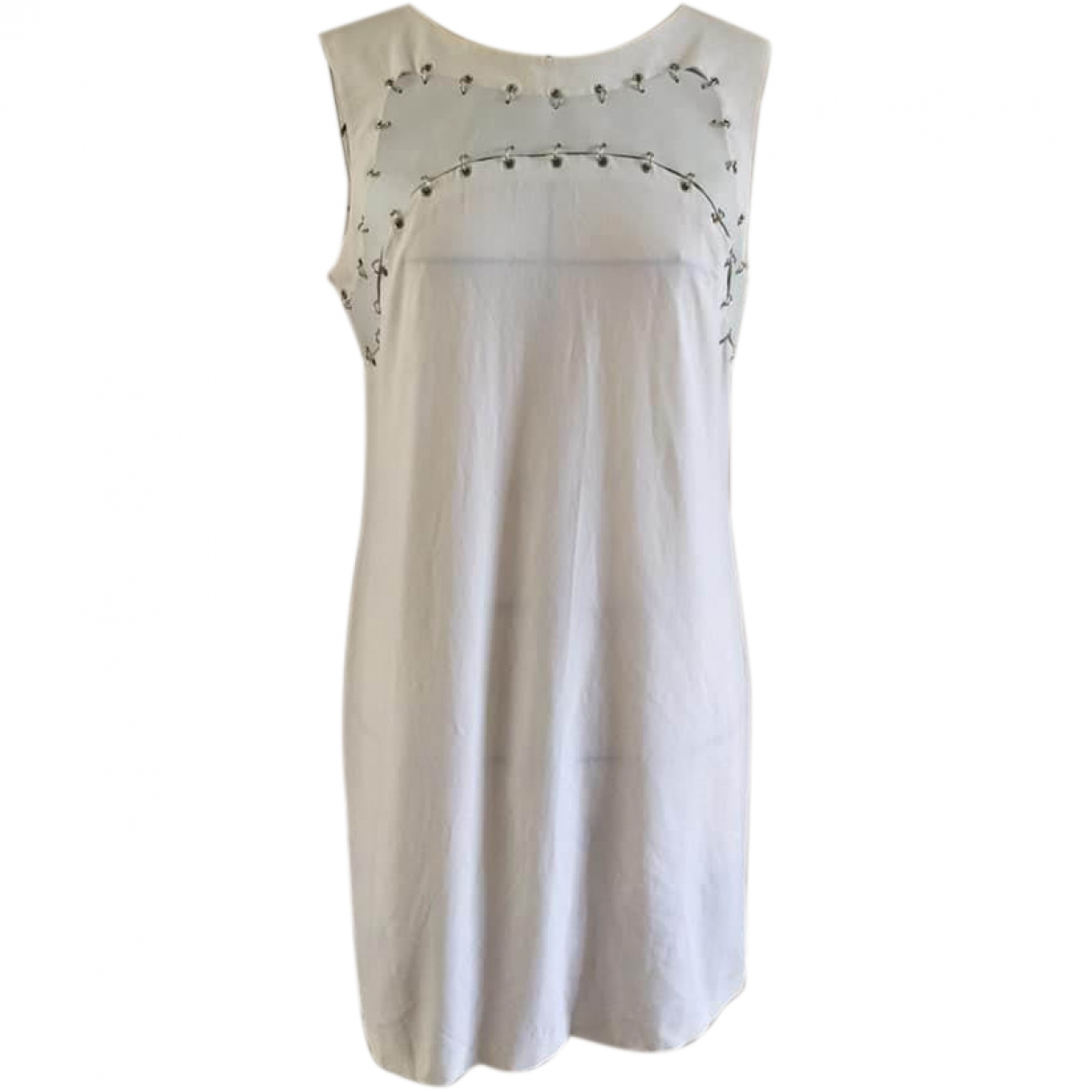 Paco Rabanne \N White Cotton dress for Women 40 FR