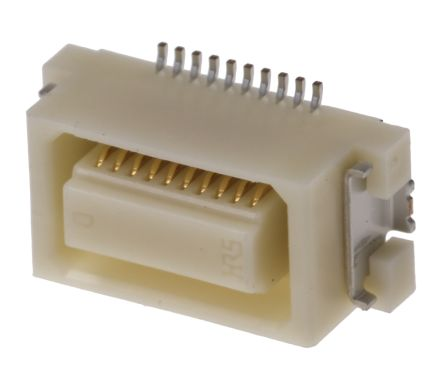 Hirose , DF17 0.5mm Pitch 70 Way 2 Row Straight PCB Socket, Surface Mount, Solder Termination (1000)