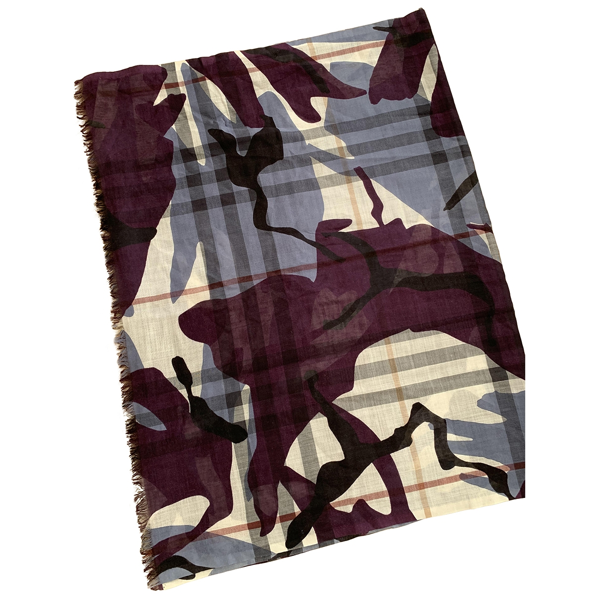 Burberry \N Multicolour Wool scarf for Women \N