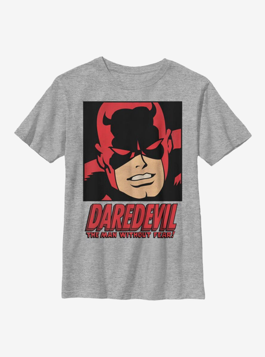 Marvel Daredevil Man Without Fear Youth T-Shirt