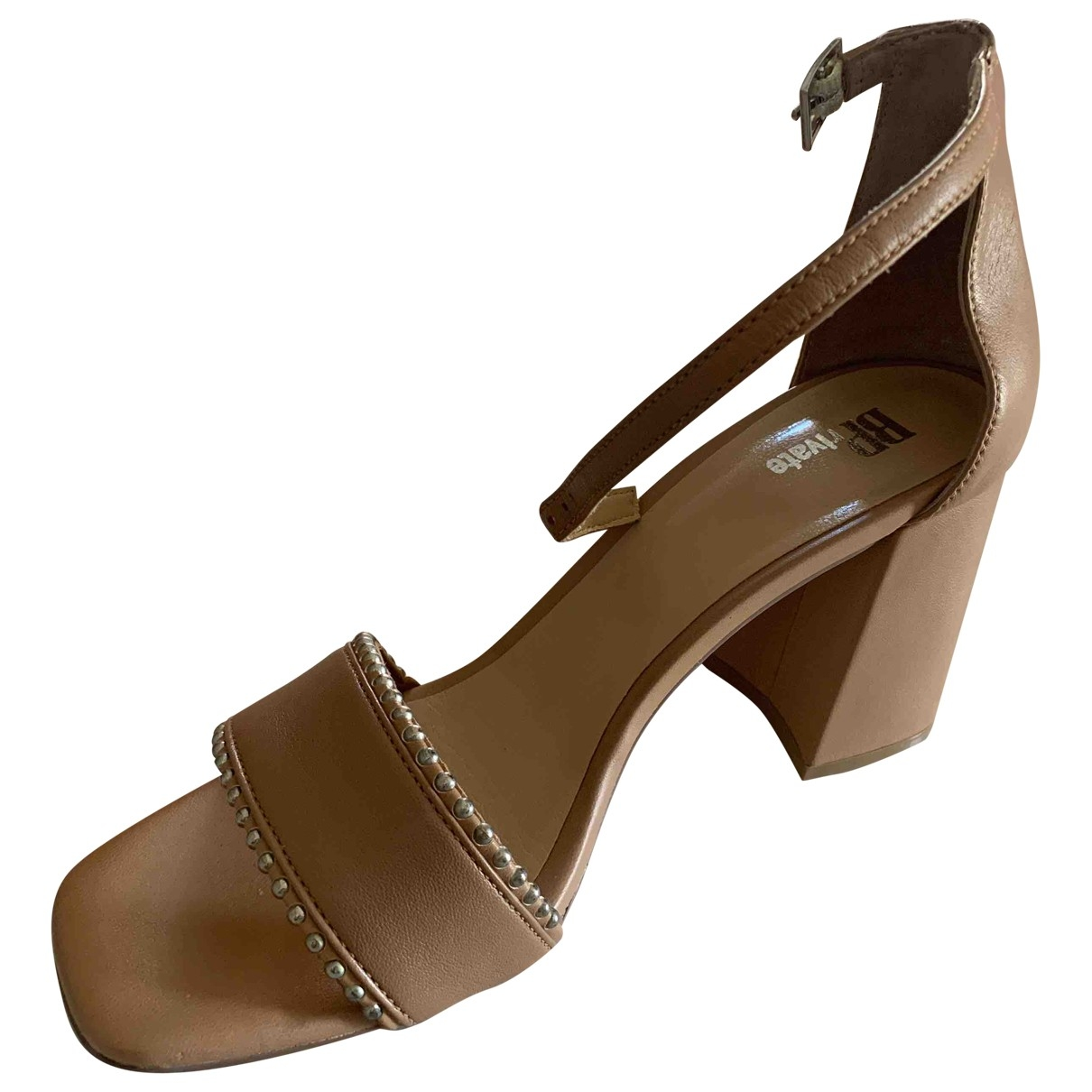 Non Signé / Unsigned \N Leather Heels for Women 39 EU