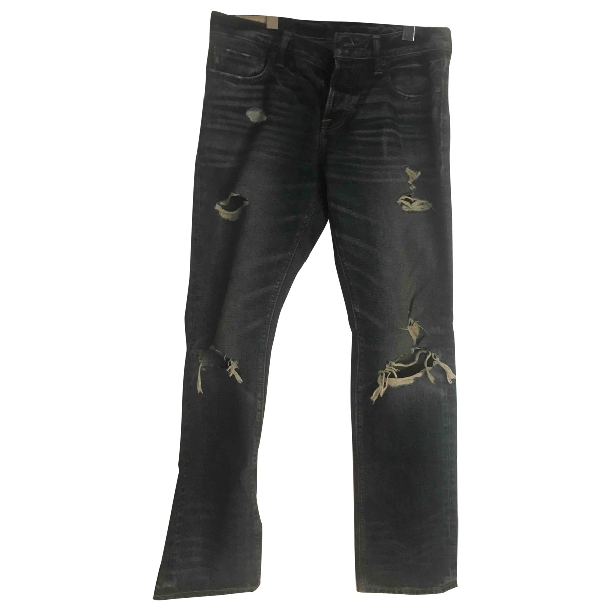 Abercrombie & Fitch \N Blue Cotton Jeans for Men 32 US