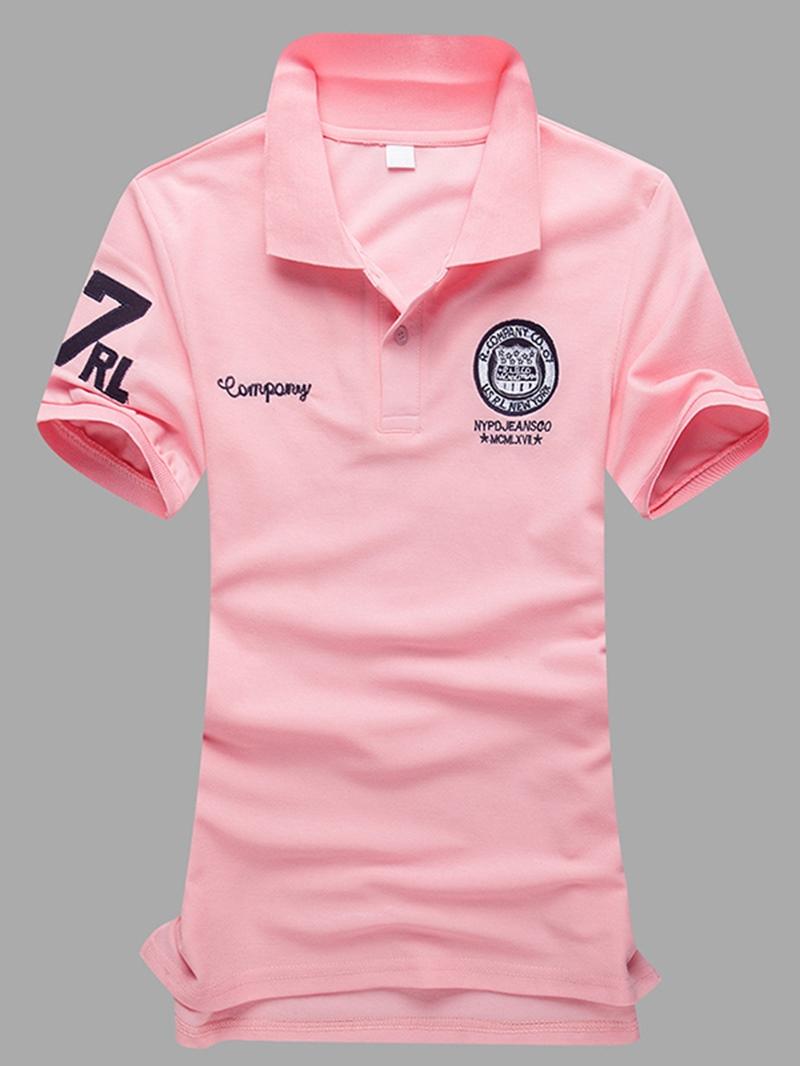 Ericdress Short Sleeve Print Smart Casual Men's T-Shirt