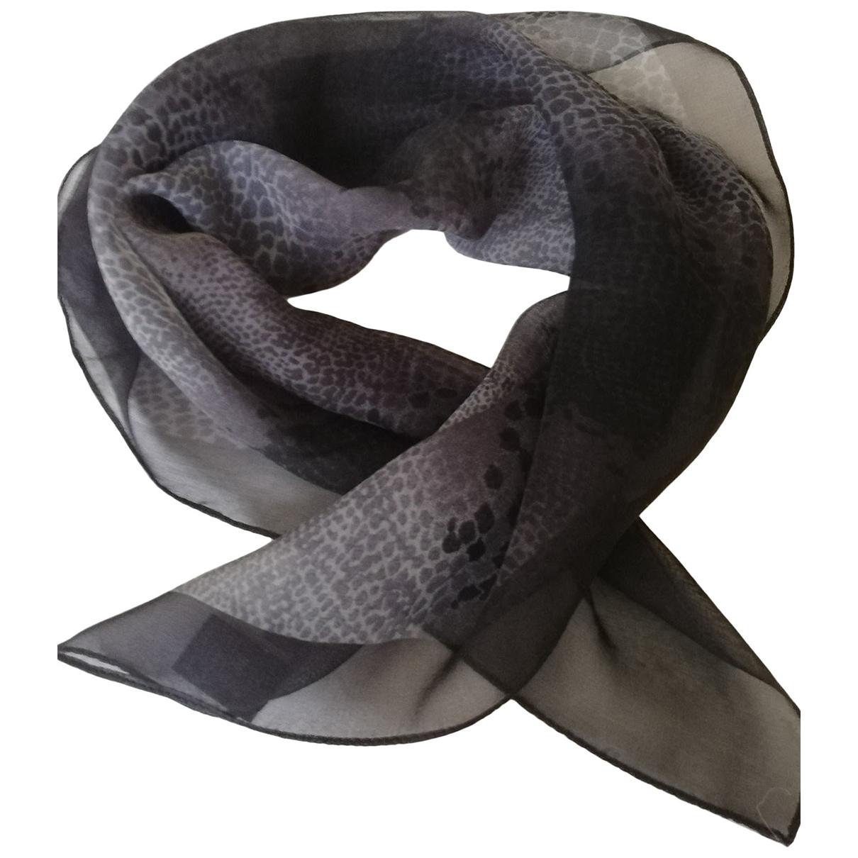 Coccinelle \N Grey Silk scarf for Women \N