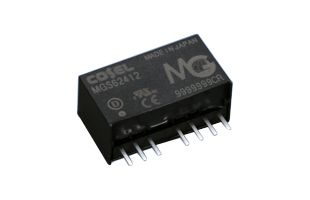 Cosel MGF 6W Isolated DC-DC Converter PCB Mount, Voltage in 9 → 36 V dc, Voltage out ±15V dc
