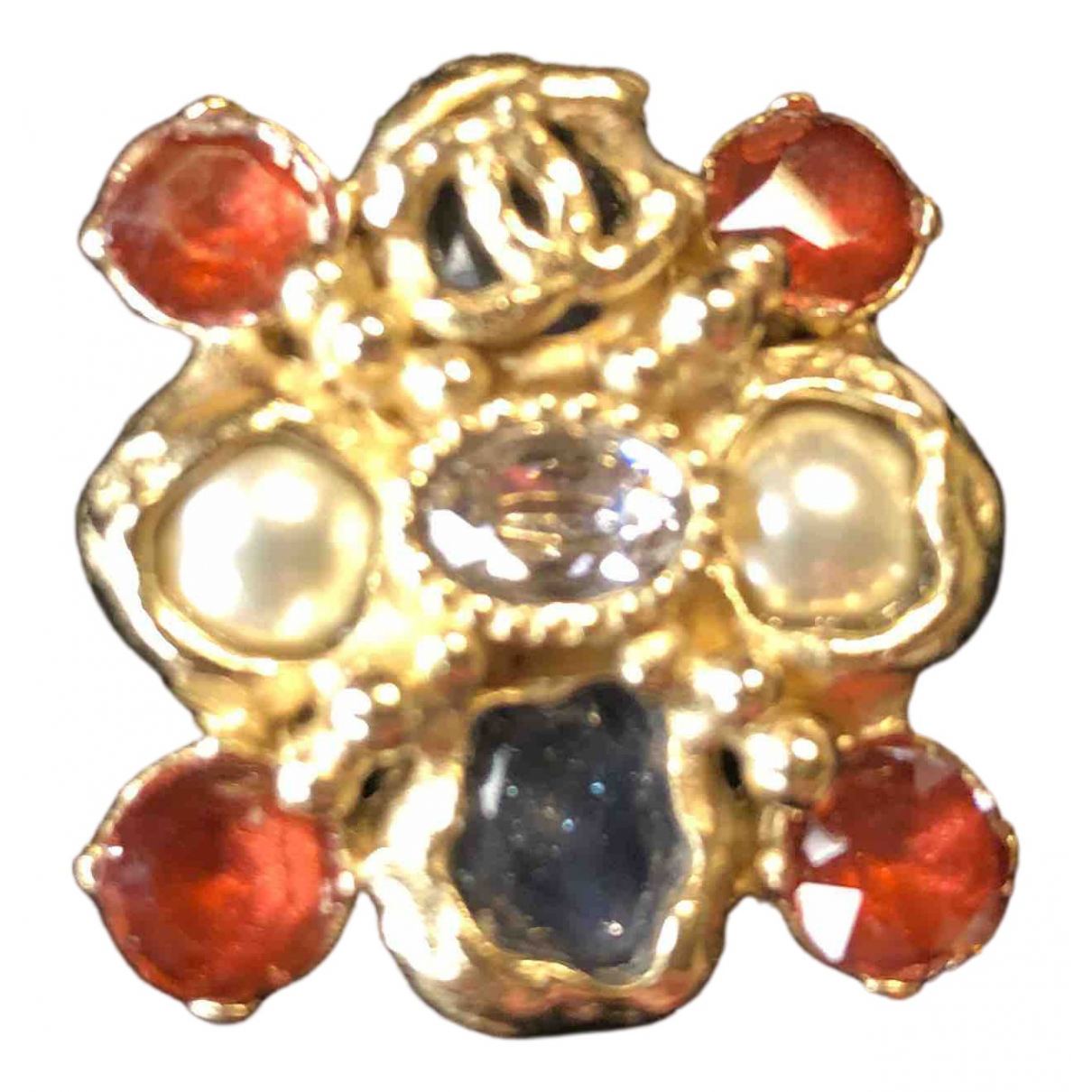 Chanel Baroque Multicolour Metal ring for Women 52 EU