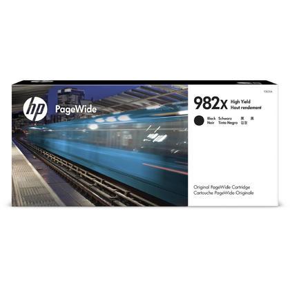 HP 982X T0B30A cartouche d'encre PageWide originale noire haut capacité