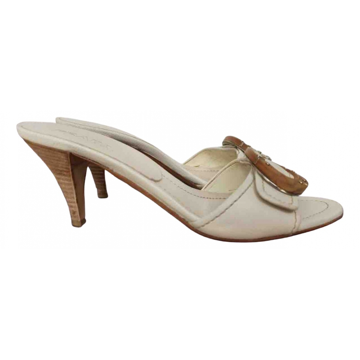 Prada \N Beige Sandals for Women 37 EU