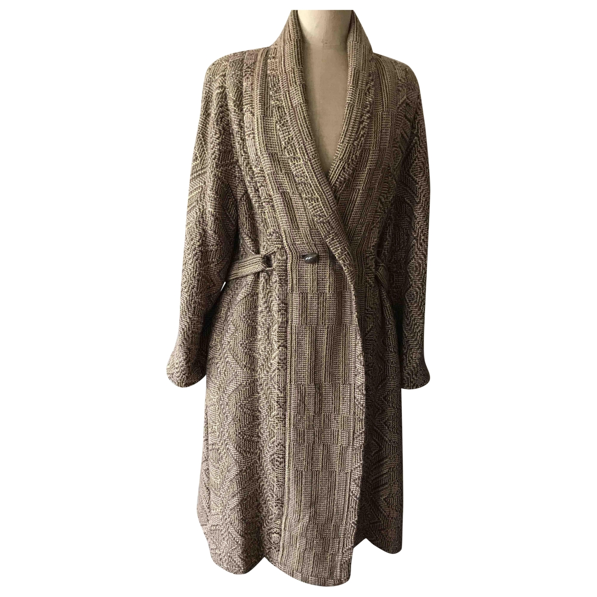 Non Signé / Unsigned \N Cashmere coat for Women 40 FR