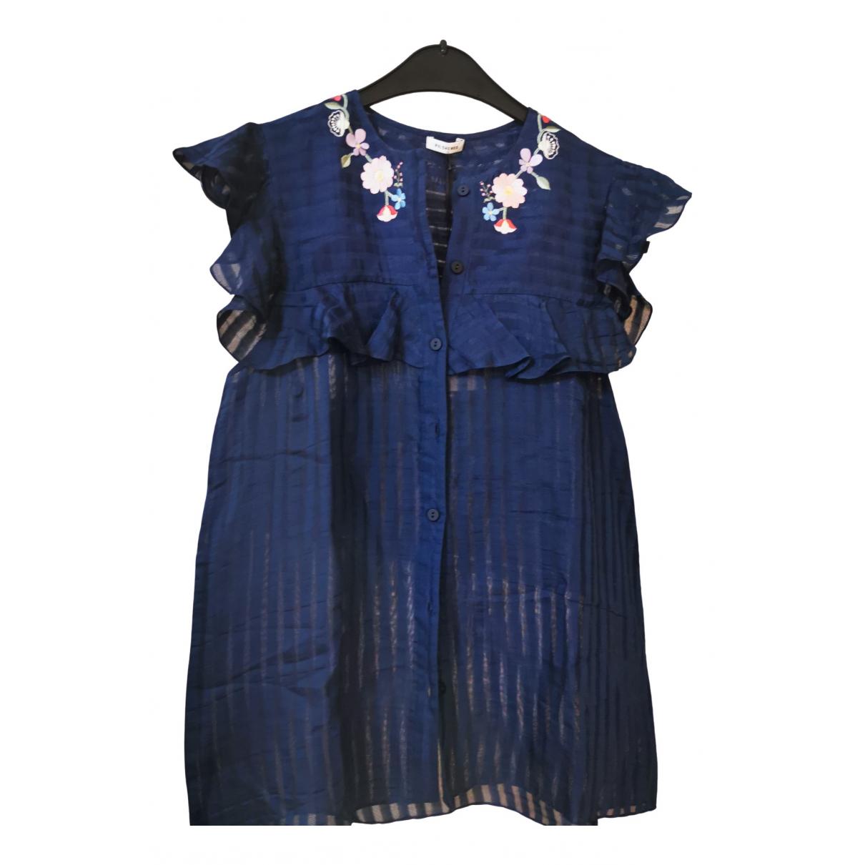 Vilshenko \N Blue Cotton  top for Women 10 UK