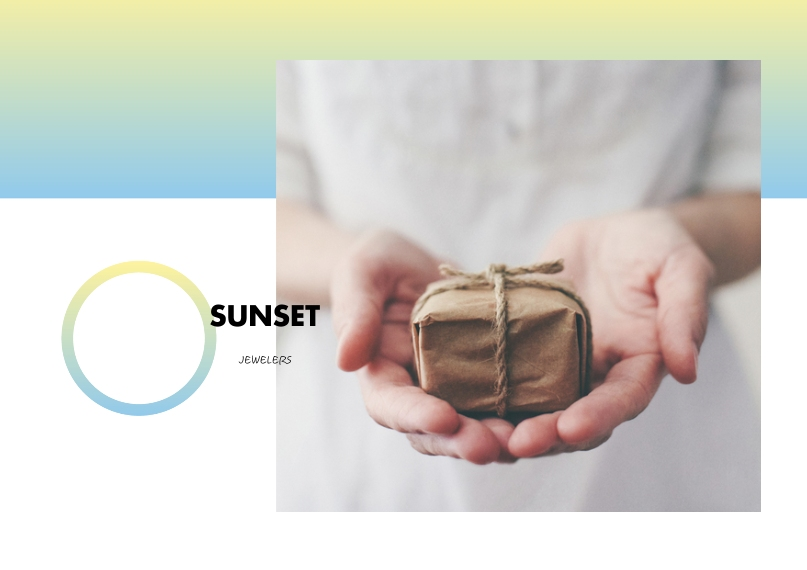 Business Business Stationery, Business Printing -Jewels Sunset Gradient