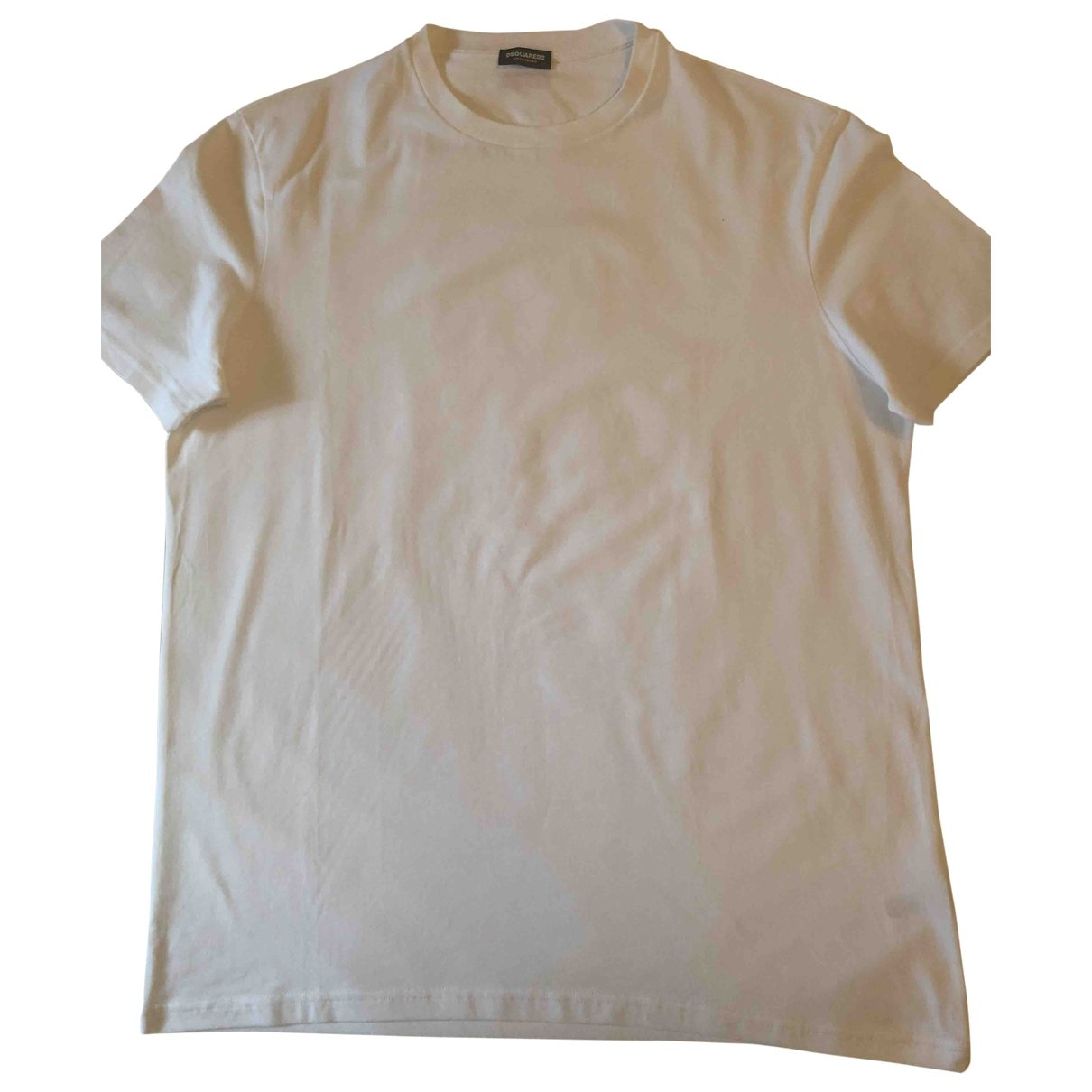 Dsquared2 \N White Cotton T-shirts for Men XXL International