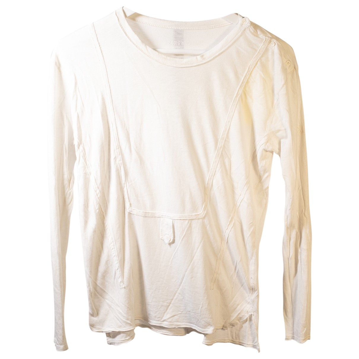 Zadig & Voltaire \N White Cotton  top for Women M International