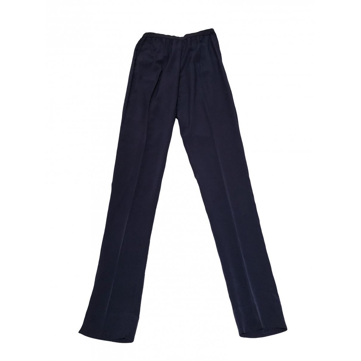 Maison Martin Margiela \N Blue Trousers for Women 42 IT