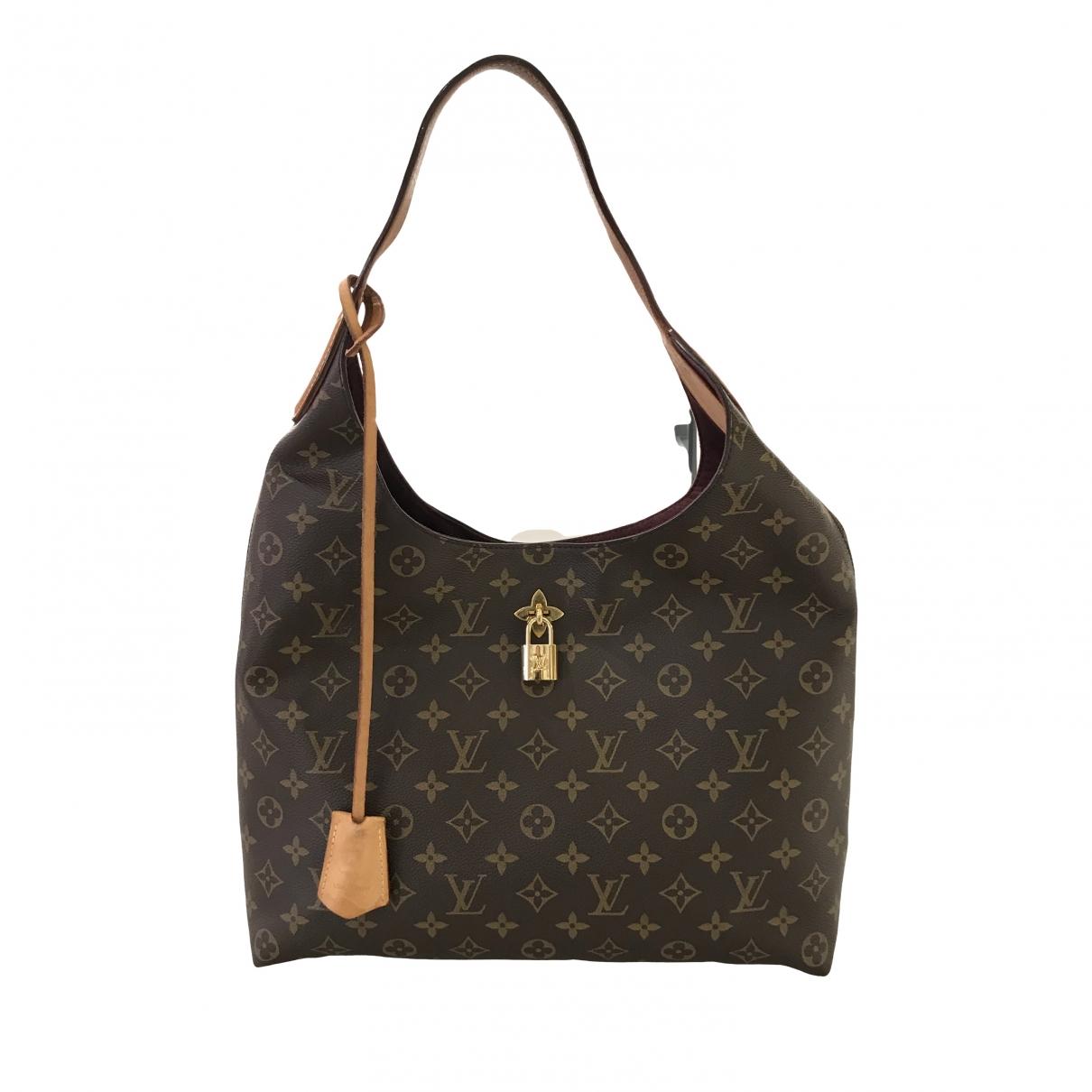 Louis Vuitton Flower Tote Brown Cloth handbag for Women \N