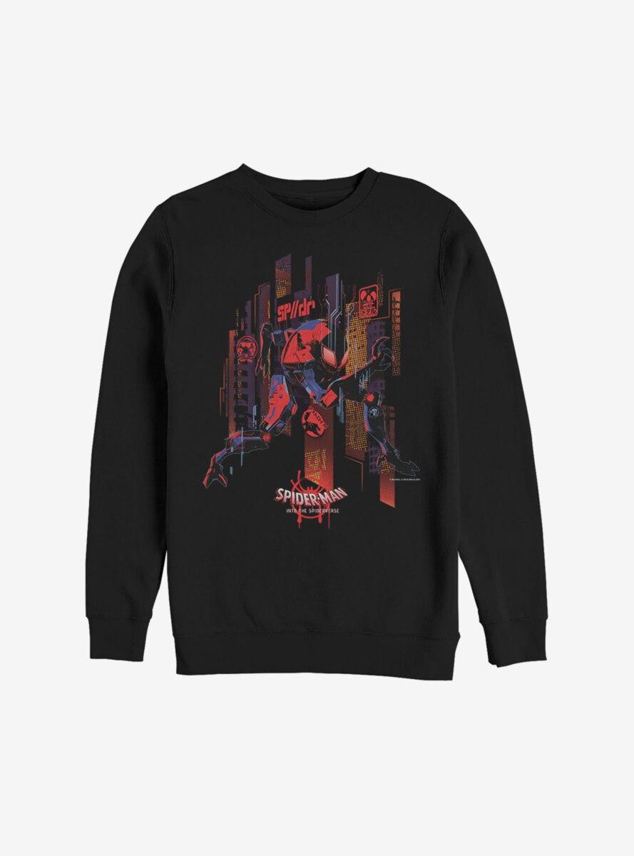 Marvel Spider-Man: Into The Spider-Verse Future Spidey Sweatshirt