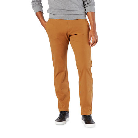 Dockers Men's Ultimate Chino Straight With Smart 360 Flex, 36 29, Brown