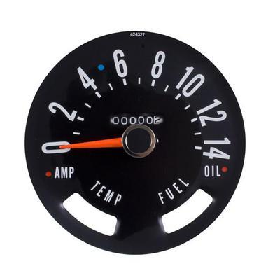 Omix-ADA Speedometer Head - 17207.02