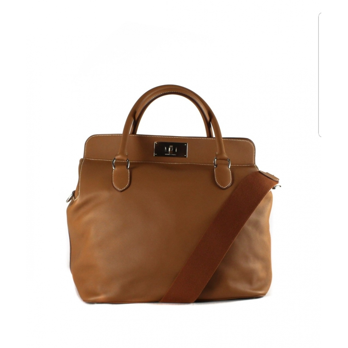Hermès Toolbox Brown Leather handbag for Women \N