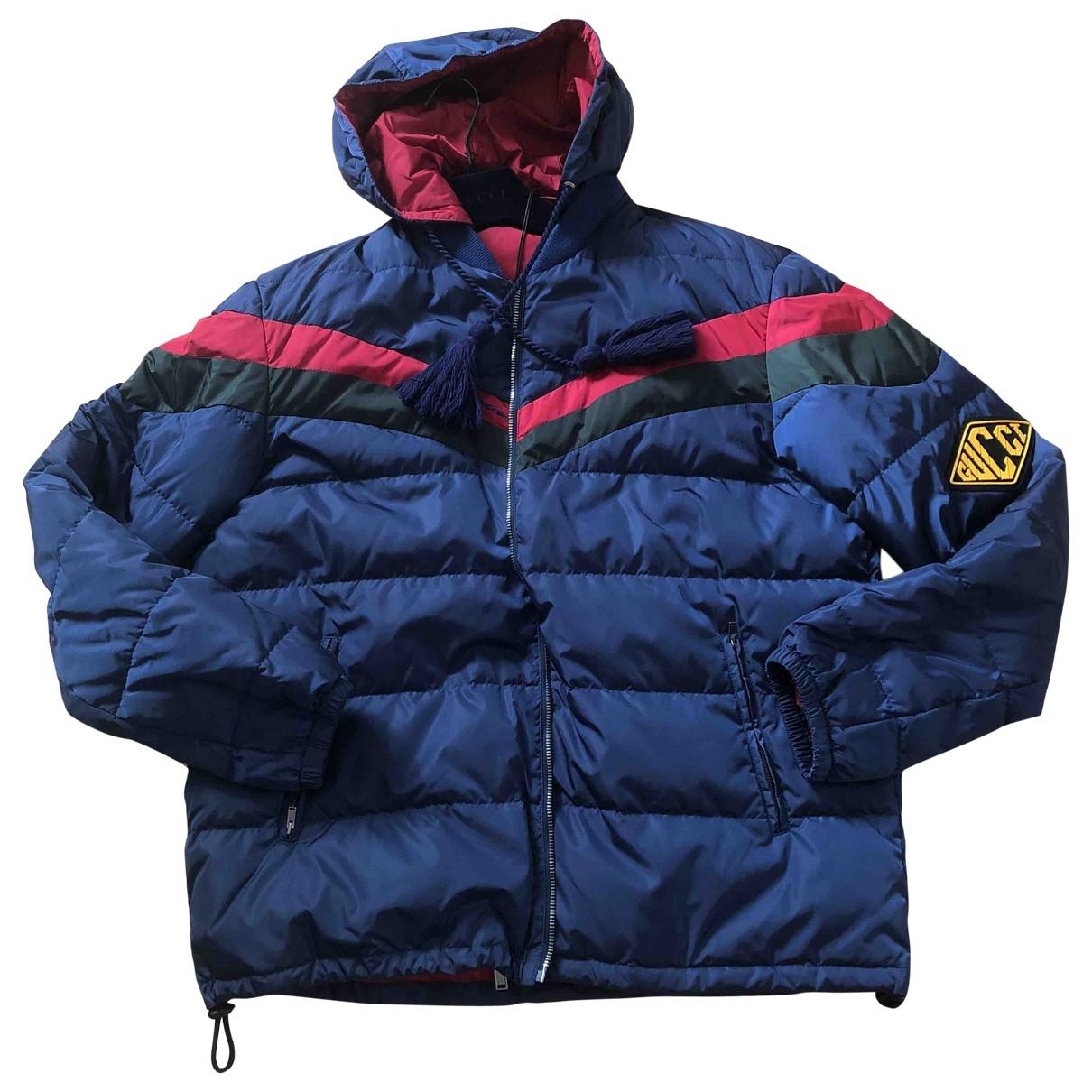 Gucci \N Blue coat  for Men 50 IT