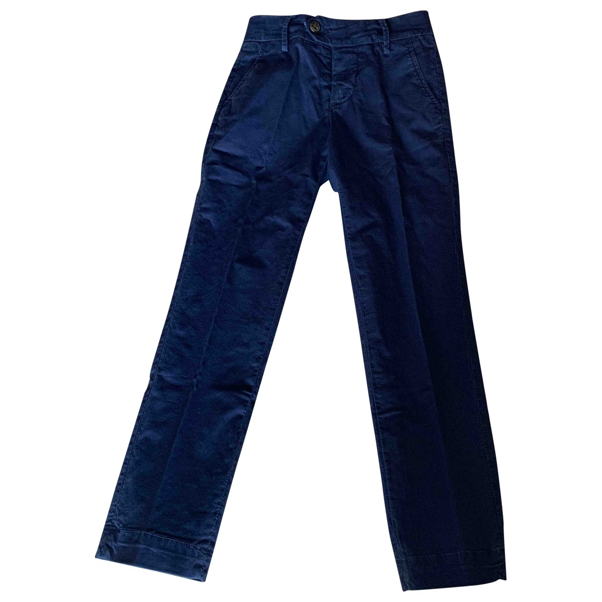 Roy Roger's \N Blue Cotton Trousers for Kids 6 years - up to 114cm FR