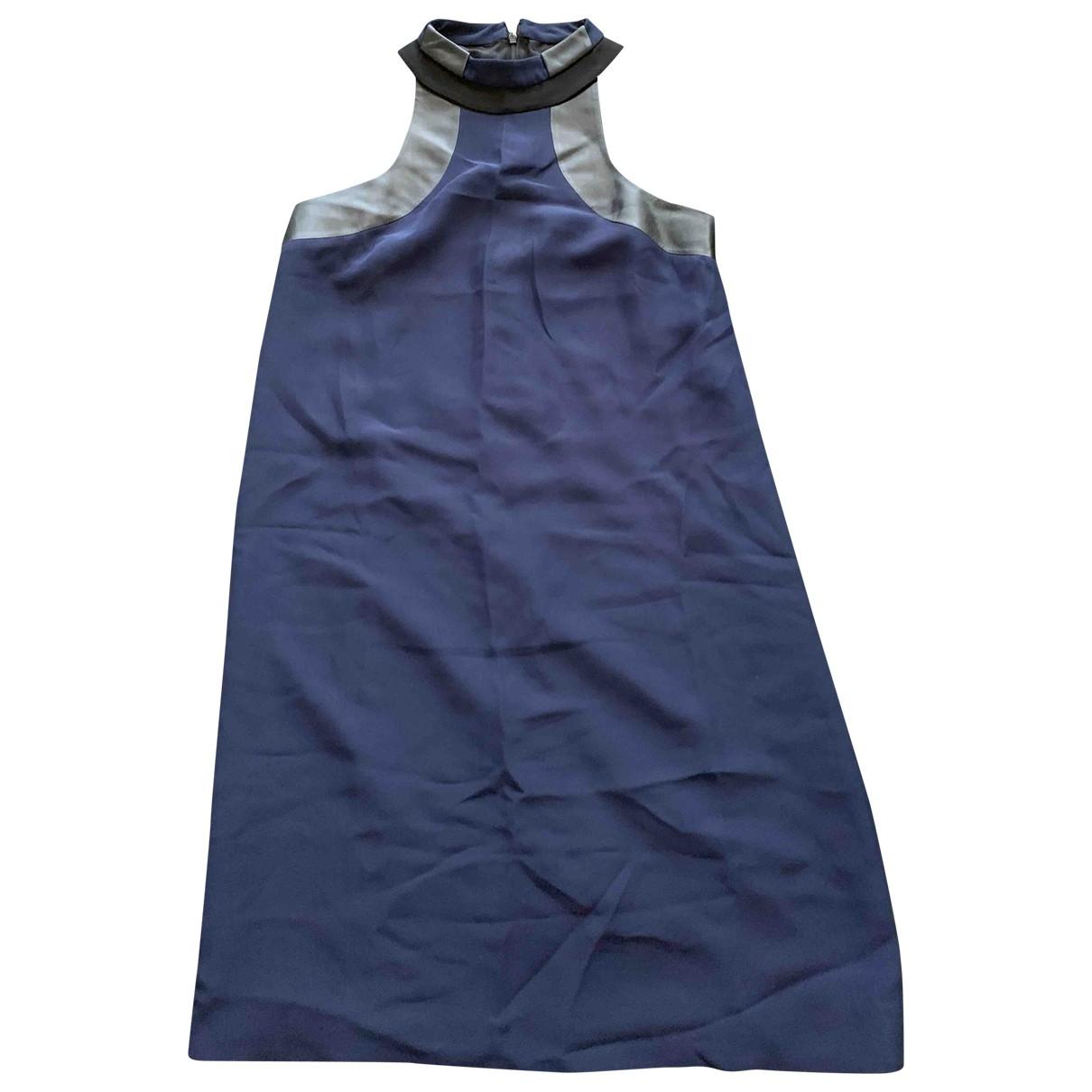 Gucci \N Navy Silk dress for Women 42 IT