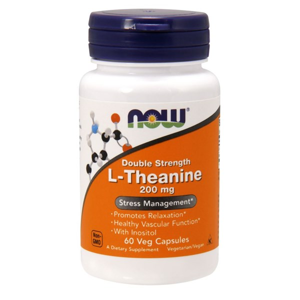 L-Theanine 60 Vcaps by Now Foods