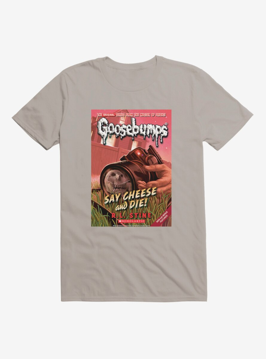 Goosebumps Say Cheese And Die Book T-Shirt