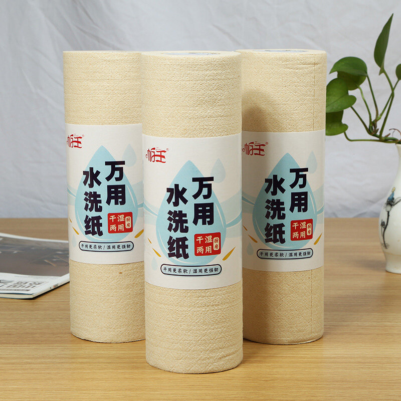 1 Roll Kitchen Paper Towels Paper Towels Paper Towels Kitchen Absorbent Paper Rolls